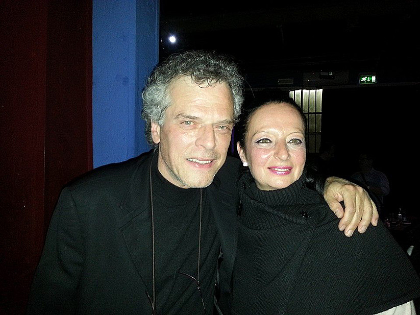 Con Alberto Patrucco