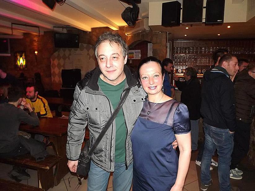 Con Sandro Anelli