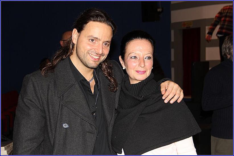 Con Alberto Bertoli