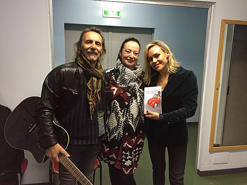 Con Marco Ferradini e Charlotte Ferradini