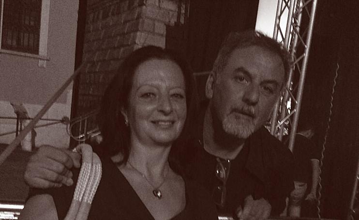Con Massimo Germini