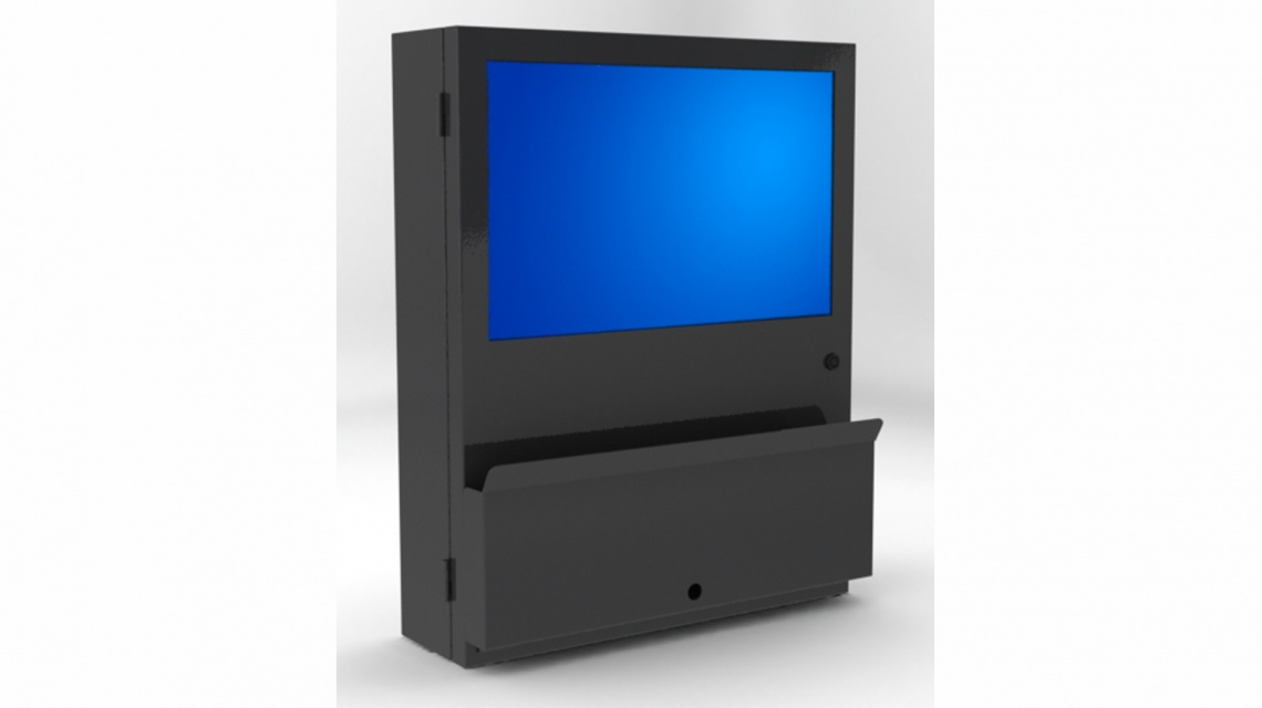 Industrial Computer Cabinet PC Defender  LCD Enclosures
