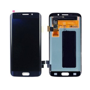 LCD Screen Replacement without frame for Samsung Galaxy S6 Edge - Blue