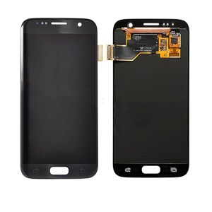 LCD Screen Replacement without frame for Samsung Galaxy S7 - Black