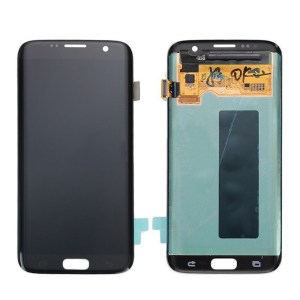 LCD Screen Replacement without frame for Samsung Galaxy S7 Edge - Black