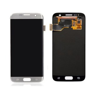 LCD Screen Replacement without frame for Samsung Galaxy S7 - Silver