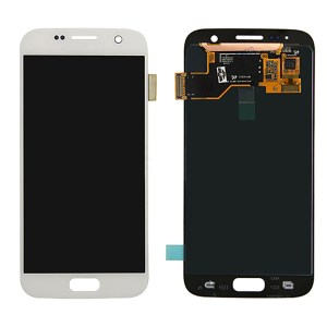 LCD Screen Replacement without frame for Samsung Galaxy S7 - White