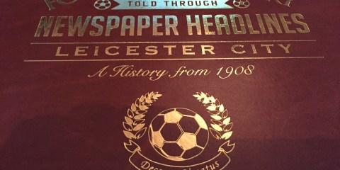 Football History newspaper headlines