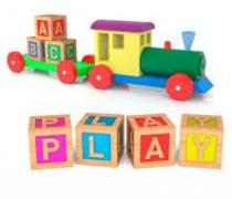 Kid's toy Play graphic