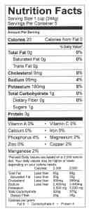 2 hr soup stock nutrition