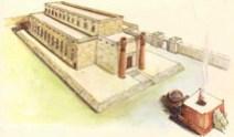 Hebrew temple graphic
