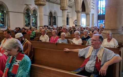 The congregation at the Reformation 500 Ecumenical Service