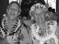 Pastor David and Karen Barber at their farewell celebration
