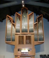 The Beckerath organ