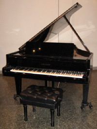 The Grotrian piano in the LCH Nave.