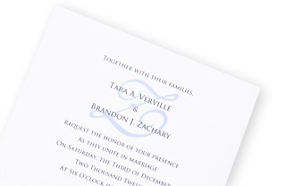 How To Print A Monogram On Your Wedding Invitation?