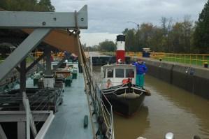 Lois McClure in Erie Canal Lock #___