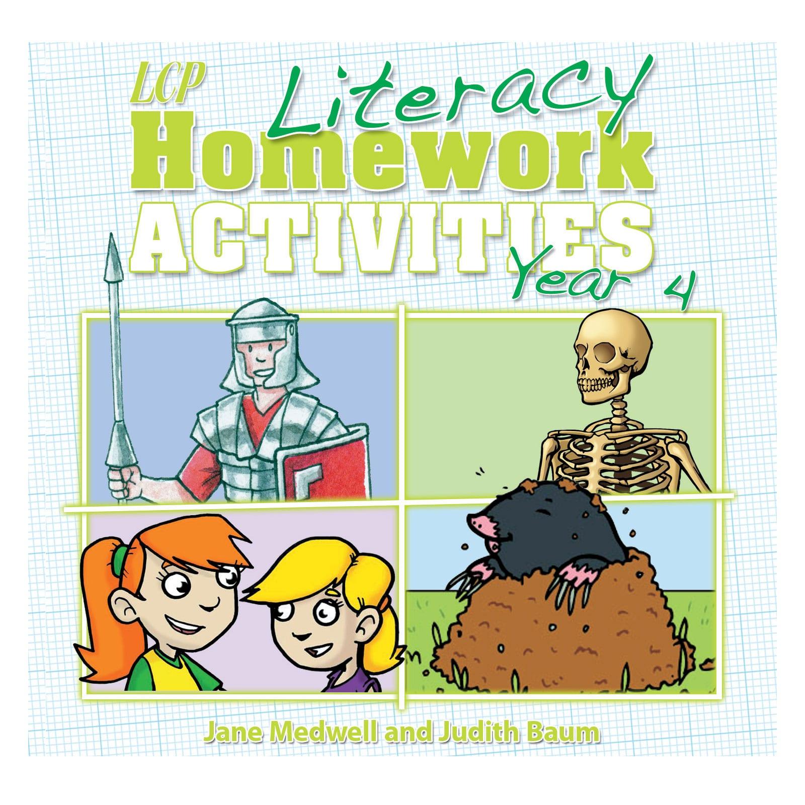 Literacy Homework Cd Year 4