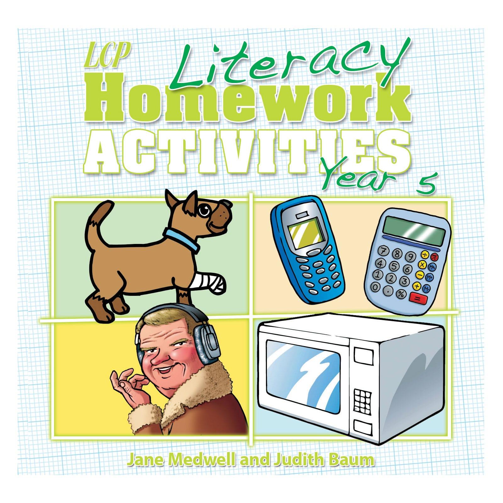 Literacy Homework Cd Year 5