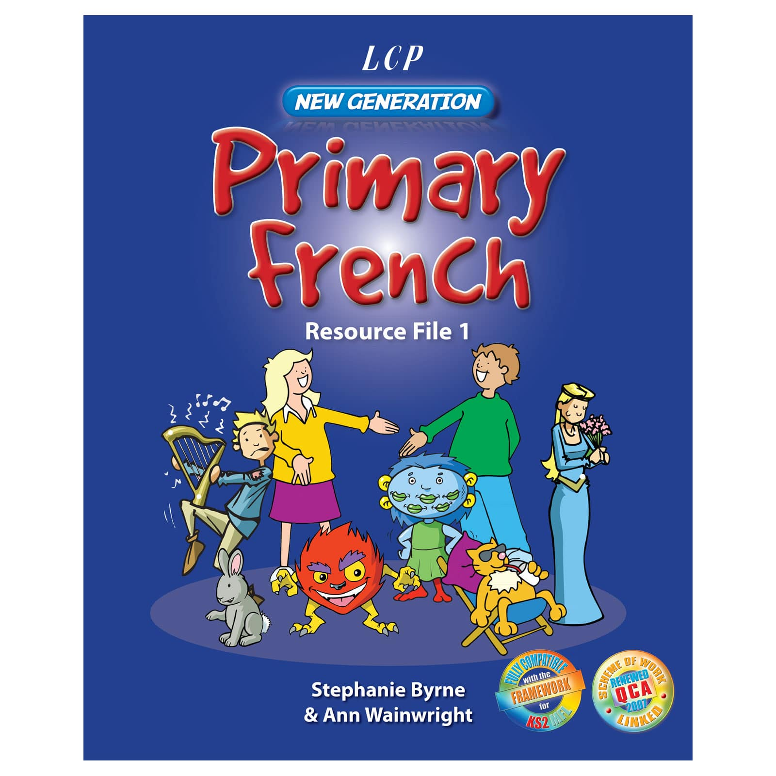 Ng Primary French Resource File Cds