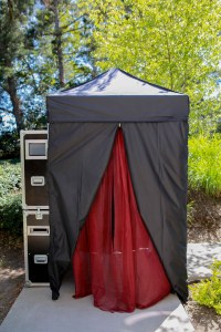 5x5 Canopy Outdoors Booth - LC Photo Booths