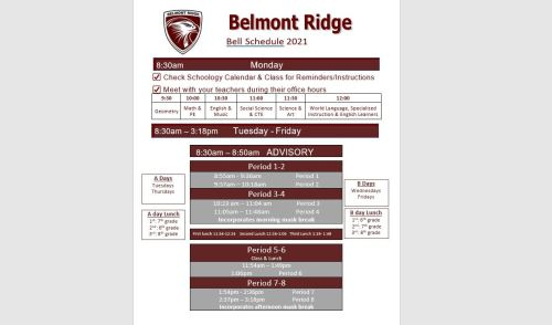 small resolution of Belmont Ridge Middle School / Overview