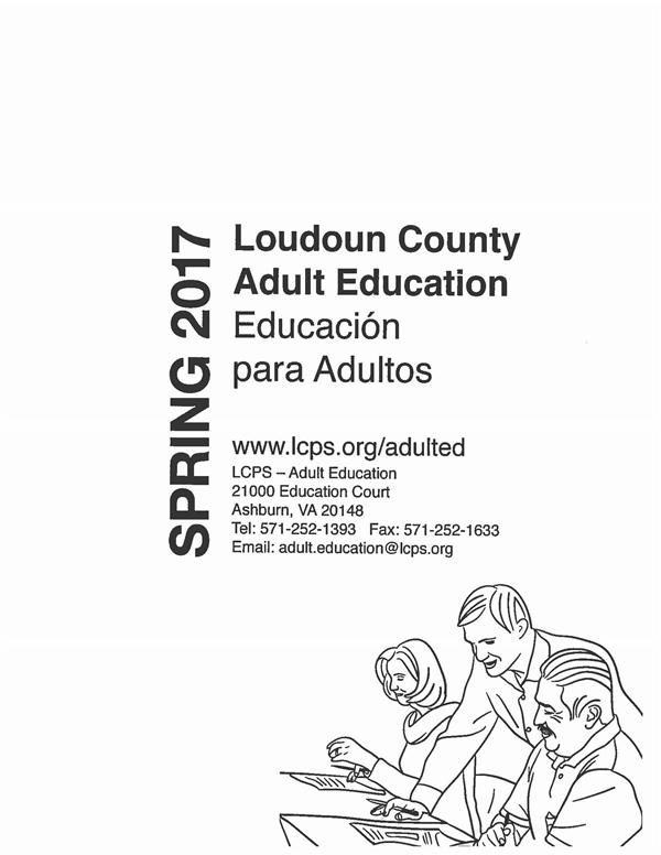 Adult Education / Spring 2017 Catalogue