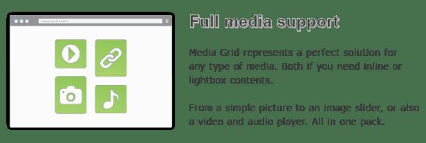 Media Grid - WordPress Responsive Portfolio 11