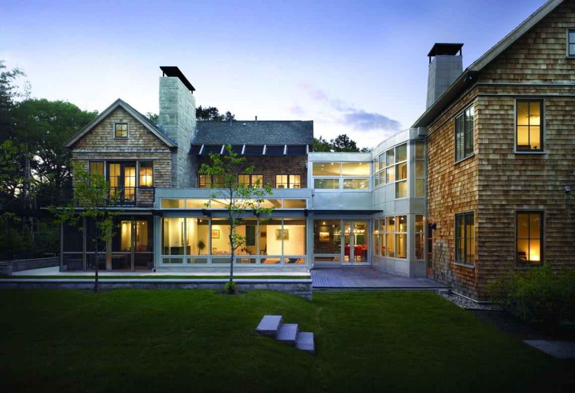 New England Contemporary | LDa Architecture and Interiors