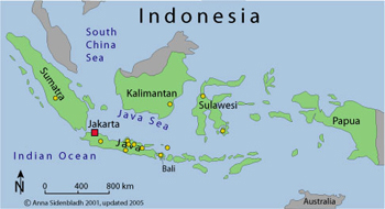 Physical Geography Indonesia