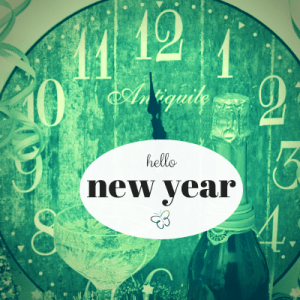 hello new year clock