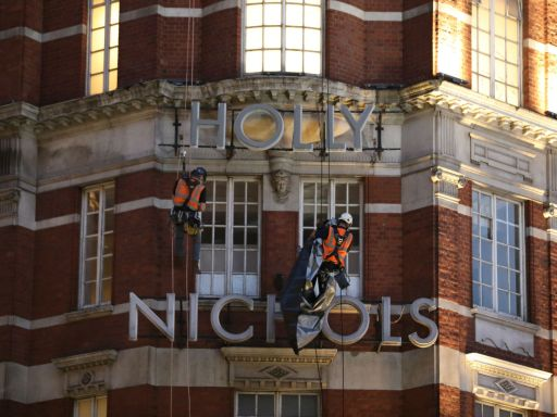Harvey Nichols rebrands as Holly Nichols