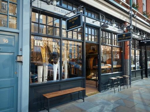 Belstaff Spitalfields store to re-open