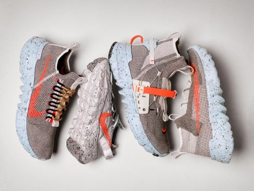 """Nike launches sustainable sneakers made from """"space waste"""""""