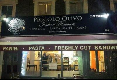 Beautiful Pizzas from Piccolo Olivo, Caledonian Road 13