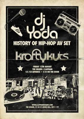 Being Grand in Clapham - DJ Yoda and £1 Cinema Club 10
