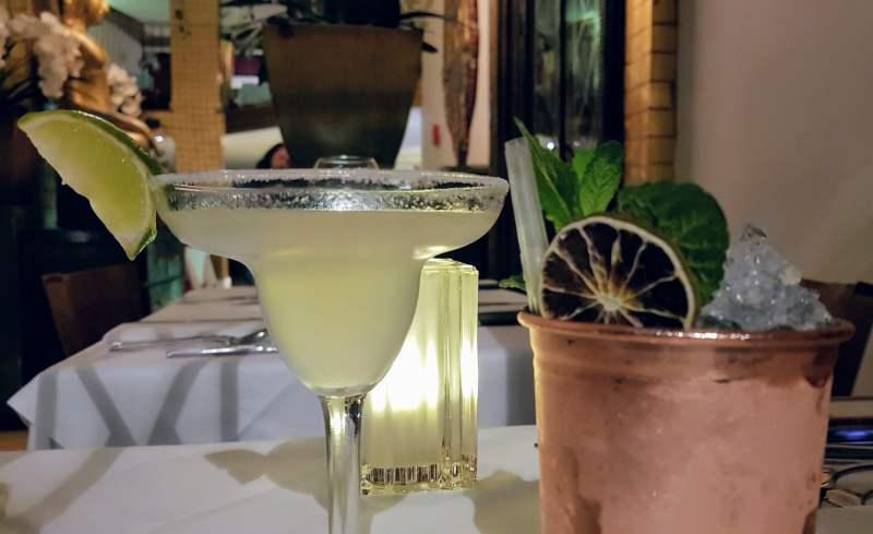 Thai square cocktails