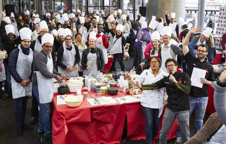 #Wokfor1000 will attempt to cook 1000+ meals in one day in Borough Market 37