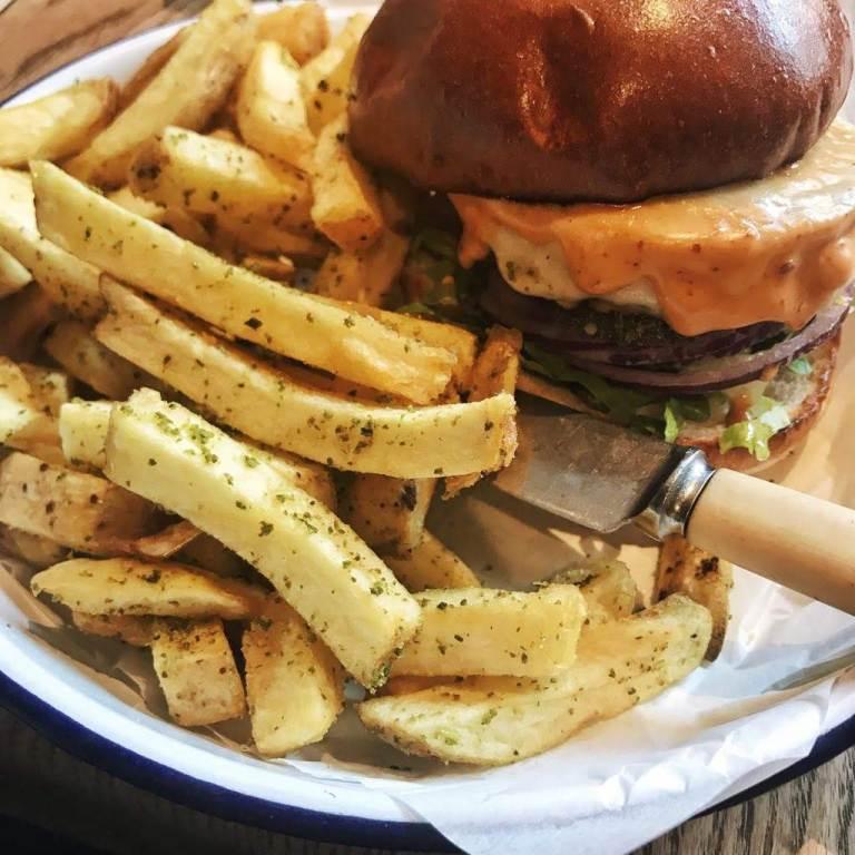 Beyond Meat at Honest Burger