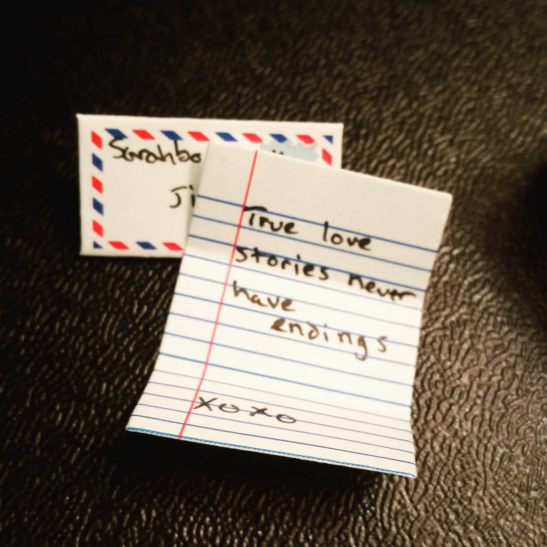 Short cute love letters for boyfriend lvelegant sarah s letter tiny is the perfect ex le of a love that short and sweet 10 incredibly simple long distance spiritdancerdesigns Choice Image