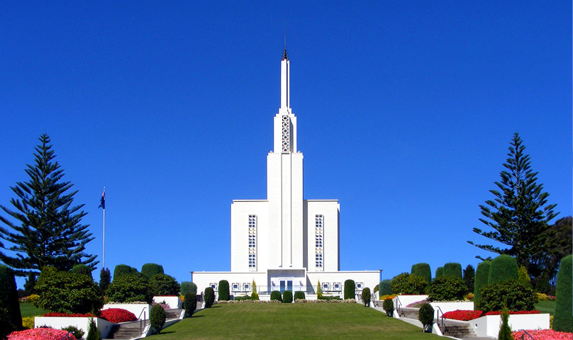 Hamilton New Zealand LDS Temple