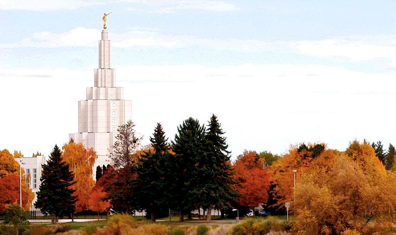 Idaho Falls, Idaho LDS Temple