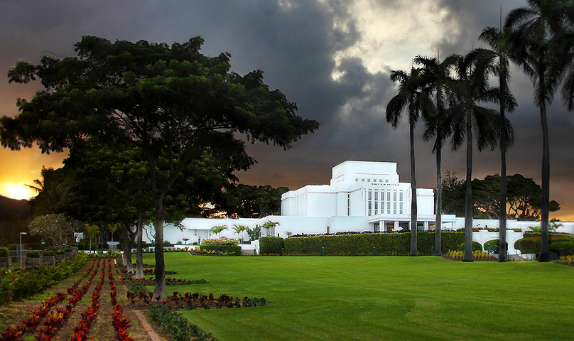 Laie Hawaii LDS Temple