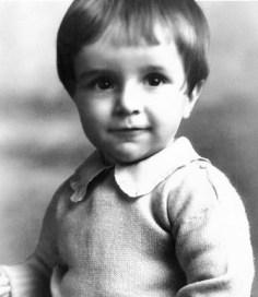 Russell Ballard cuando bebé