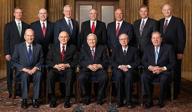 el Quórum de los Doce Apóstoles