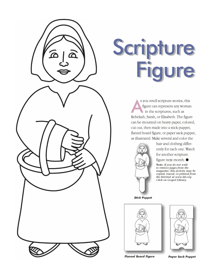 Women Bible Characters Coloring Pages Coloring Pages