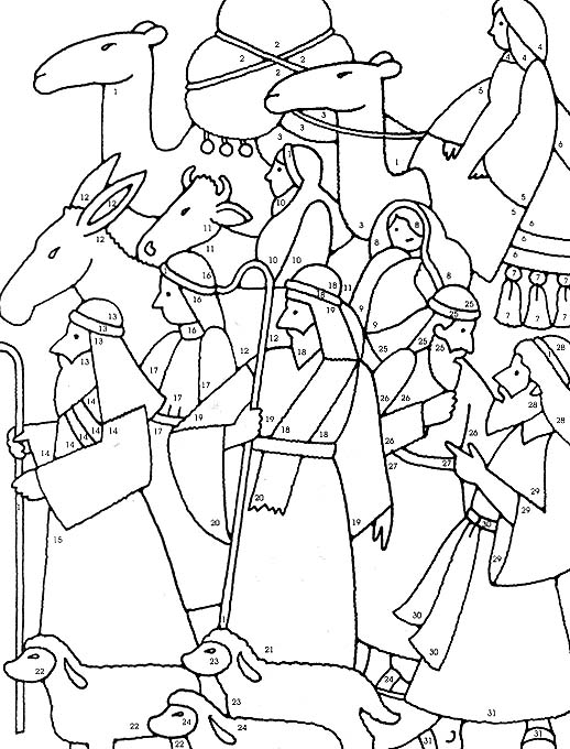 Free gospel of peace coloring pages