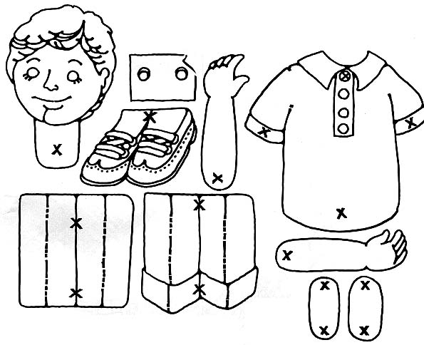 Primarily Inclined: Primary 1 Lesson 16: I Have a Body