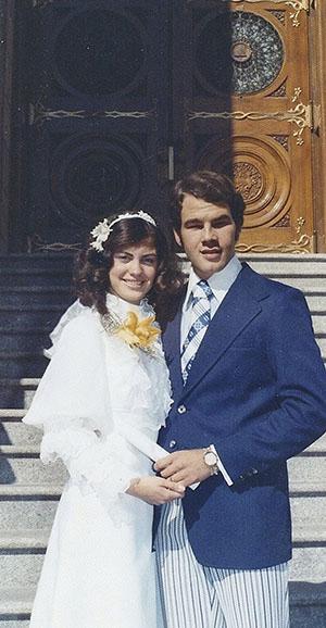 ronald a. rasband wedding photo
