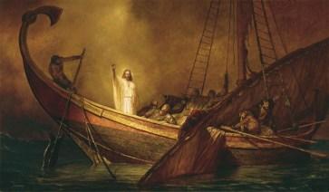 Jesus Calms the Storm, artist unknown